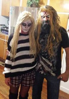 Lords of Salem couples costume (Rob Zombie and Sherri Moon Zombie)