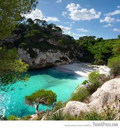 Cala Macarelleta   - Explore the World with Travel Nerd Nici, one Country at a Time. http://TravelNerdNici.com