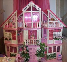 Sister had this, barbie doll house