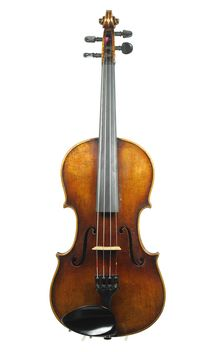 Antique violin, after Guarnerius, approx. 1900 - Violins, Saxony / Unknown