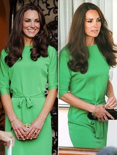 kate in green | Photo courtesy of people.com)
