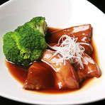 Okayama|岡山 おかやま|Restaurant|お好み焼き だぼ|豚の角煮
