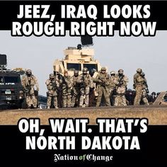 AND ND IS Rough Right Now! #Where'sObama? #Injustice!