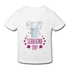 shirts4friends GESCHENKE-SHOP T-Shirts und andere Geschenke zur Einschulung, Schulanfang. Erstklässler freuen sich über Schulkind-2017-Motive in Ihrer Schultüte  Kinder Bio-T-Shirt