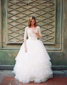 Non-Strapless Wedding Dress by Sareh Nouri Bridal
