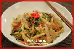 Yaki Udon Recipe | Easy Japanese Recipes at Just One Cookbook