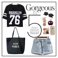"""""""Romwe 8"""" by amra-f ❤ liked on Polyvore featuring Venus, Agent 18, Bobbi Brown Cosmetics and In Your Dreams"""
