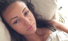 Michelle Keegan shows off her flawless complexion in #nomakeupselfie #DailyMail
