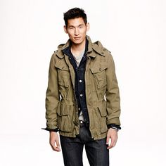 J.Crew Garrison fatigue jacket