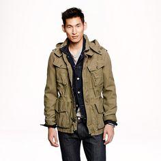 J.Crew Garrison fatigue jacket