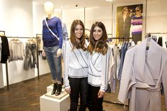Fashion duo Sarah Tankel Ellis and Philippa Bloom of We Are Twinset at our Covent Garden store launch event.