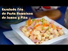 Ensalada hawaiana de pasta sencilla y truco para hacer el aliño más ligero | El Saber Culinario