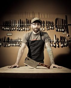 Fifteen things to know about kitchen knives. (Galen Garretson, Town Cutler)