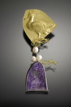 Repoussé Jewelry by Linda Kindler Priest