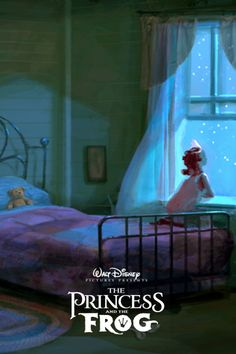 Princess and the frog concept art poster