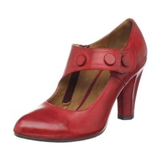 efc3760a7983 I have a thing for red shoes...shabby chic..mary janes