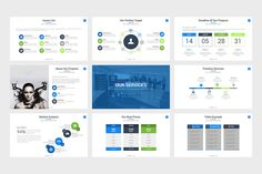 Enterprise Powerpoint Template by slidefusion on Envato Elements