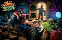 Finale alternativo Biancaneve: Vita domestica con uno dei nani. Il principe è solo un amante