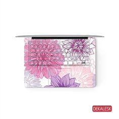 Blooming Flowers - MacBook Keyboard Skin