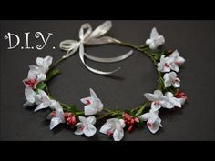 ✾ ❀ ❁ D.I.Y. Flower Crown Tutorial ✾ ❀ ❁. Link download: http://www.getlinkyoutube.com/watch?v=igwgv6poXZ4