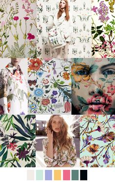 BOTANICAL BLOOMS SS16 Pattern Curator
