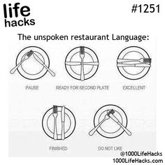 I need to remember this for fancy places...