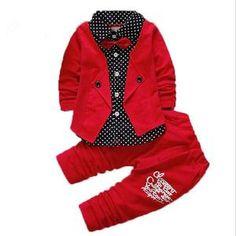 2017 Baby Boys Autumn Casual Clothing Set Baby Kids Button Letter Bow Clothing Sets Babe jacket + pant Suit Set - Kid Shop Global - Kids & Baby Shop Online - baby & kids clothing, toys for baby & kid Baby Outfits, Toddler Boy Outfits, Pants Outfit, Outfit Sets, Suit Pants, Casual Suit, Casual Outfits, Baby Set, Bow Tie Suit
