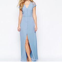 Jarlo Lucia Blue Formal Maxi Dress