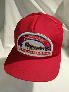 217d13ab376 Budweiser Clydesdales Snapback Hat
