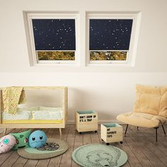 Need Polka Dots Blue Thermal Blackout Blinds for Roto skylight windows? Our own brand blinds are fully compatible with Roto loft windows. For help Call 0800 008 6293 Fakro Blinds, Blinds For Velux Windows, Skylight Blinds, Skylight Window, Silver Blinds, Black Blinds, Nursery Blinds, Bedroom Blinds, Childrens Blinds