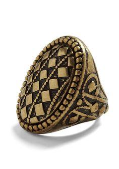 I love me some chunky rings. :)
