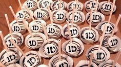 One Direction cake pops <3