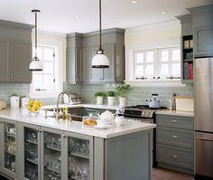 Ask A Designer: Affordable Kitchen Update - House & Home Like the back splash
