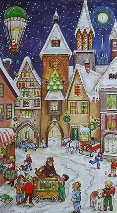 Advent calendar made in Germany