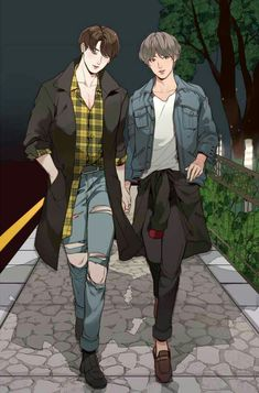 KookV or Taekook Vkook Fanart, Bts Chibi, Taekook, Anime Manga, Anime Guys, Fan Art, Manhwa, Bts Wallpapers, Anime Lindo