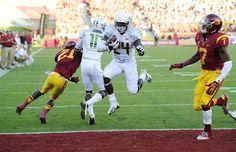 Deanthony Thomas Signed 24x30 Sports Illustrated Oregon Ducks Football College-ncaa