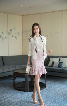 Korean Women`s Fashion Shopping Mall, Styleonme. India Fashion, Pink Fashion, Asian Fashion, Skirt Fashion, Fashion Dresses, Fashion Boots, Cheap Mens Fashion, Womens Fashion, Edgy Dress