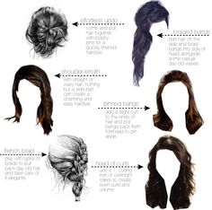 Allison Inspired School Hairstyles | beautiful everything