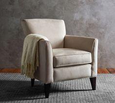 Marcel Upholstered Armchair | Pottery Barn