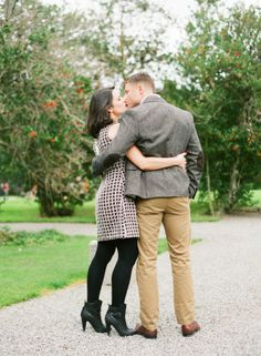 Black Booties Engagement Session Fashion Ideas | photography by http://katiestoops.com/