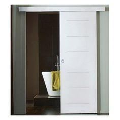 Syst me coulissant pour porte en bois castorama - Castorama portes interieures ...