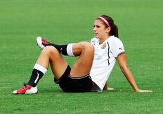 ⚽Soccer! She is my favorite soccer player ever!! Soo beautiful!