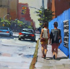 Blue Wall by Patti Mollica