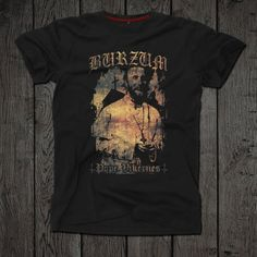 Burzum t-shirt Black metal Norwegian black metal clothing Black Metal, Best Sellers, Mens Tops, T Shirt, Etsy, Clothes, Awesome, Fashion, Supreme T Shirt