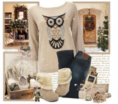 """""""Winter :)"""" by mari-moon ❤ liked on Polyvore"""