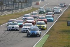 ETCC Monza. Race start