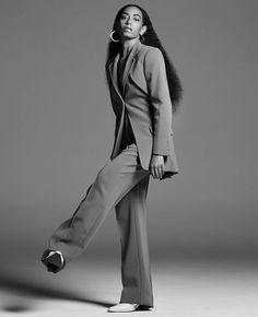 FR Daily News - Solange Knowles pour Numéro Berlin Été Solange Knowles, Gq, Mode Costume, Suit Fashion, Black Girl Magic, Boss Lady, Suits For Women, Her Style, Editorial Fashion