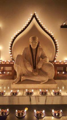 Sai Baba of Shirdi blessed once again ☺ xx om sai ram xx