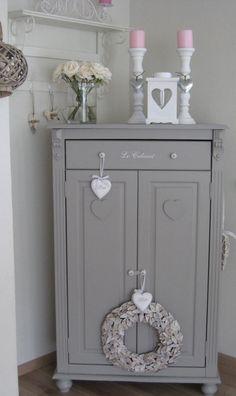 shabby chic grey dresser