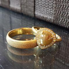 Wonderful soft gold set. #preciouseveryday  #MyBridalStyle #MyDiamondStyle